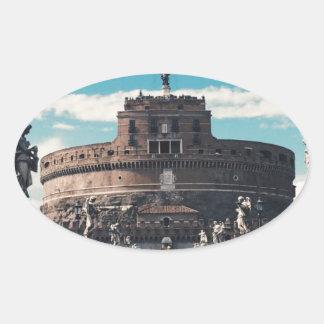 Castel Sant'Angelo 楕円形シール