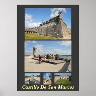 Castillo De San Marcos ポスター