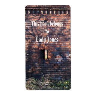 CastleジョーンズBookplate女性 ラベル