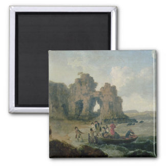 Castle Rock (Flatholmの島)、ブリストルチャネル、17 マグネット