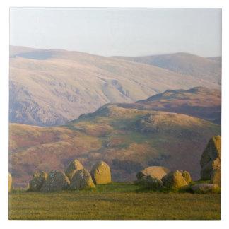 Castleriggの石造りの円、湖地区、Cumbria、2 タイル