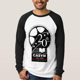 CASYM第20記念日の長い袖のTシャツ Tシャツ