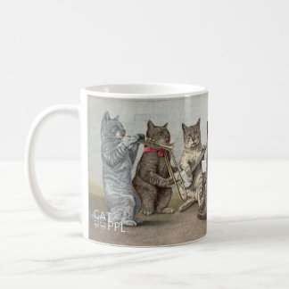 CATのオーケストラ コーヒーマグカップ