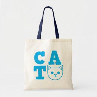 CATの青 トートバッグ