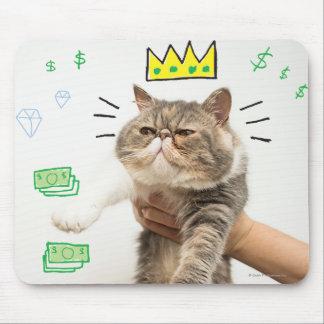 Cat豊富な王 マウスパッド