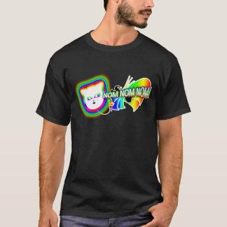 """Cat0r """"Nom Nom Nom! """" Tシャツ"""