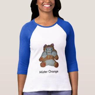cat2の氏Orange Tシャツ