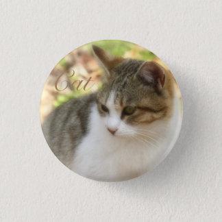 Cat 缶バッジ