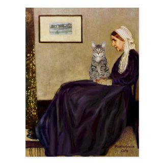 CAT (虎猫1) -ホイスラーの母 ポストカード