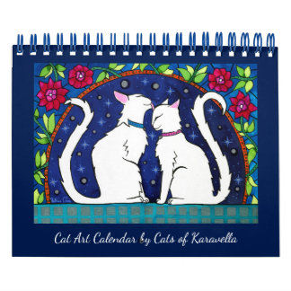 Cat Calendar by Cats of Karavella Atelier カレンダー