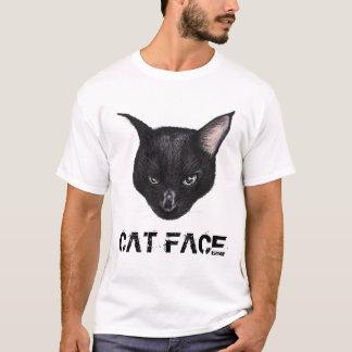 CAT FACE Tシャツ
