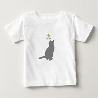 Cat mie g5 ベビーTシャツ