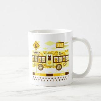 CAT ROAD AND CAT BUS コーヒーマグカップ