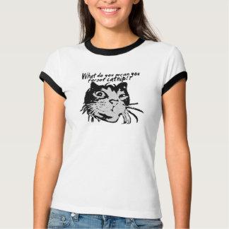 CAT-TITUDE Tシャツ