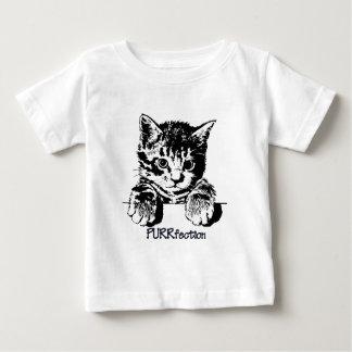 CAT TodlerのTシャツPurrfection ベビーTシャツ