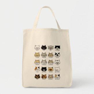 *cat tote*猫柄【ブサ猫】 トートバッグ