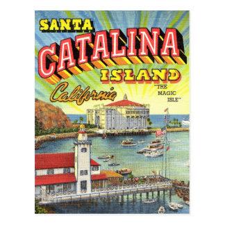 Catalinaの島の郵便はがき ポストカード