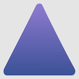 Catalinaの青い横の勾配への中型の紫色 三角形シール
