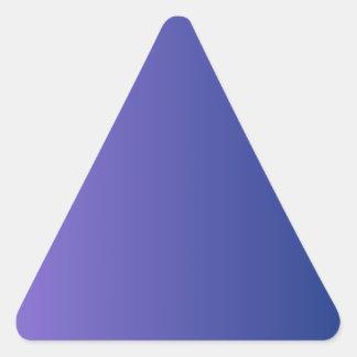 Catalinaの青い縦の勾配への中型の紫色 三角形シール