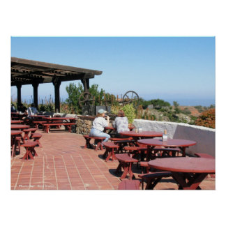 Catalina空港カフェ プリント