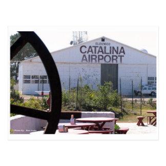 Catalina空港 ポストカード