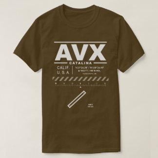 Catalina空港AVX Tシャツ