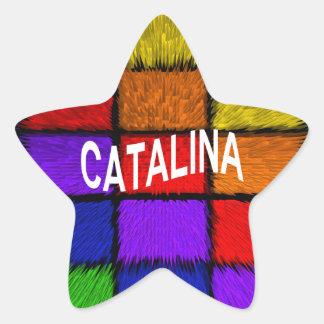 CATALINA 星シール