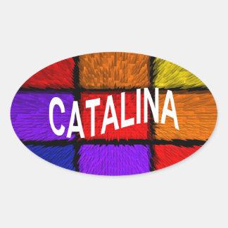CATALINA 楕円形シール
