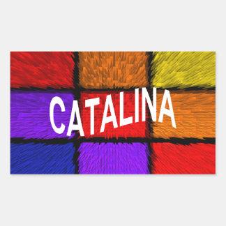 CATALINA 長方形シール