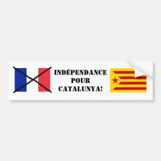 Catalonia Independence Bumper Sticker 2