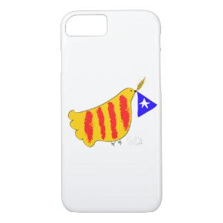 CatalunyaポーIのllibertatかデザイン iPhone 7ケース