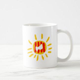 Catalunya日曜日、SOL コーヒーマグカップ