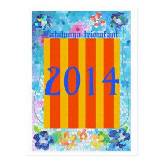 Catalunya 2014年 葉書き