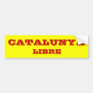 Catalunya* Libreのバンパーステッカー バンパーステッカー