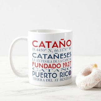 Catano、プエルトリコ コーヒーマグカップ