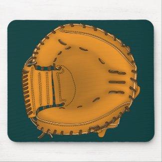 catcher's mitt マウスパッド