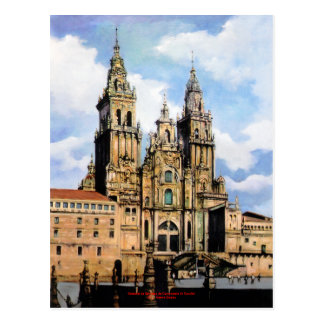Catedral de Santiago de Compostela (A Coruña) ポストカード