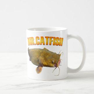 Catfish氏の魚釣り コーヒーマグカップ