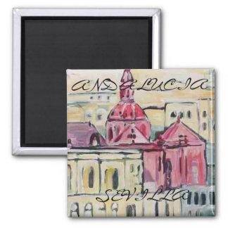 Cathedral_Sevilla、セビリア、アンダルシア マグネット