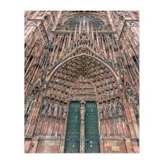 Cathedrale Notre Dame、ストラスブール、フランス アクリルウォールアート