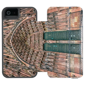 Cathedrale Notre Dame、ストラスブール、フランス Incipio Watson™ iPhone 5 財布 ケース