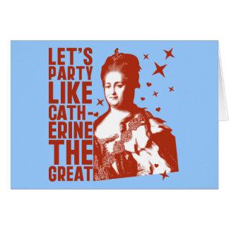Catherine The Greatのようにパーティを楽しもう カード