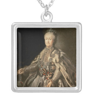 Catherine The Great 1793年 シルバープレートネックレス