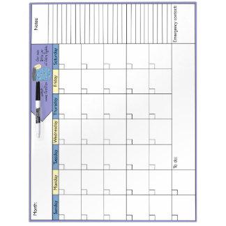 Cathingのホタル6Wのカレンダー ホワイトボード