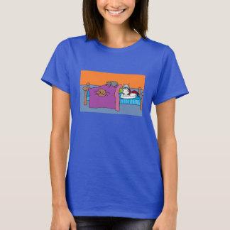 Catladyの睡眠 Tシャツ