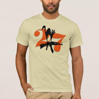 Catlashnikov Tシャツ