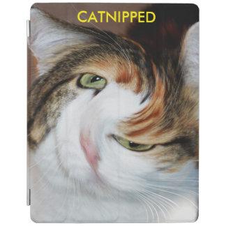 Catnippedおもしろいな猫 iPadスマートカバー