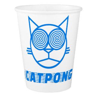 Catpong (青い) 紙コップ