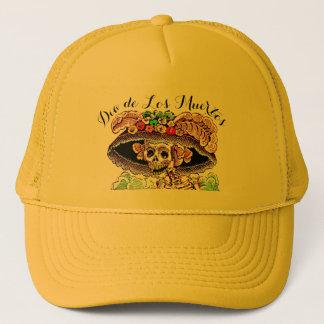 Catrinaの死んだ帽子のDia de Los Muertos/日 キャップ