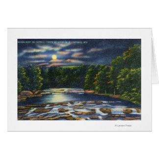 Catskillの入り江の月光場面 カード